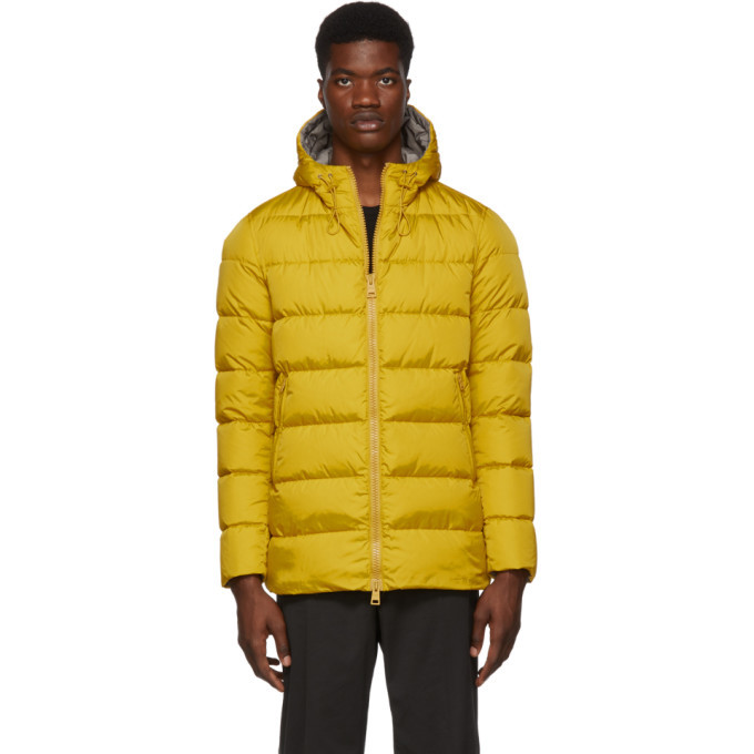 Photo: Herno Yellow Down Laminar Chamonix Jacket