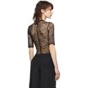 Nina Ricci Black Lace Bodysuit