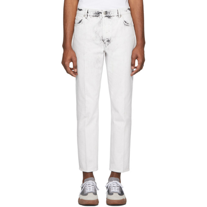 Stella McCartney White Galaxy Wash Denzel Jeans