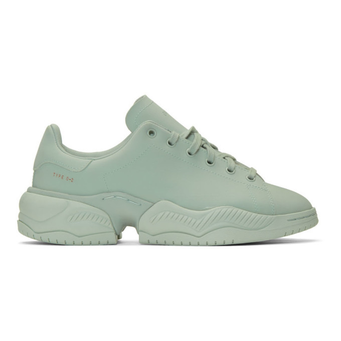 Photo: OAMC Green adidas Originals Edition Type O-2R Sneakers
