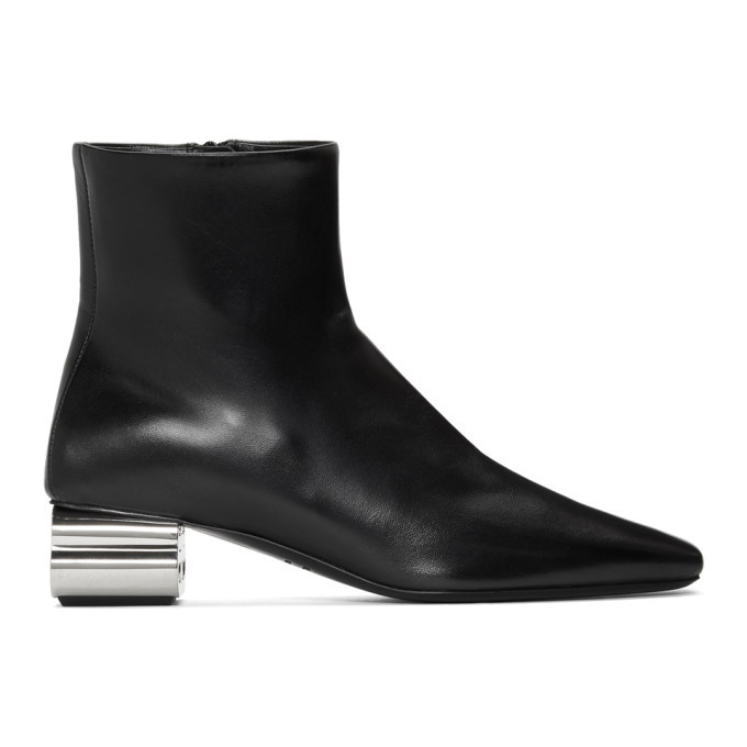Photo: Balenciaga Black Typo 50mm Boots