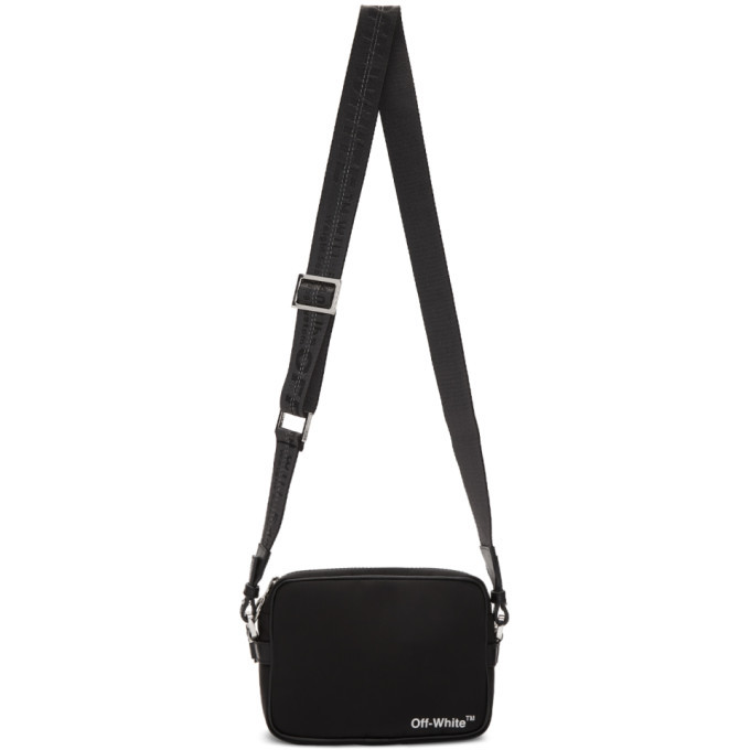 Photo: Off-White Black Logo Crossbody Bag