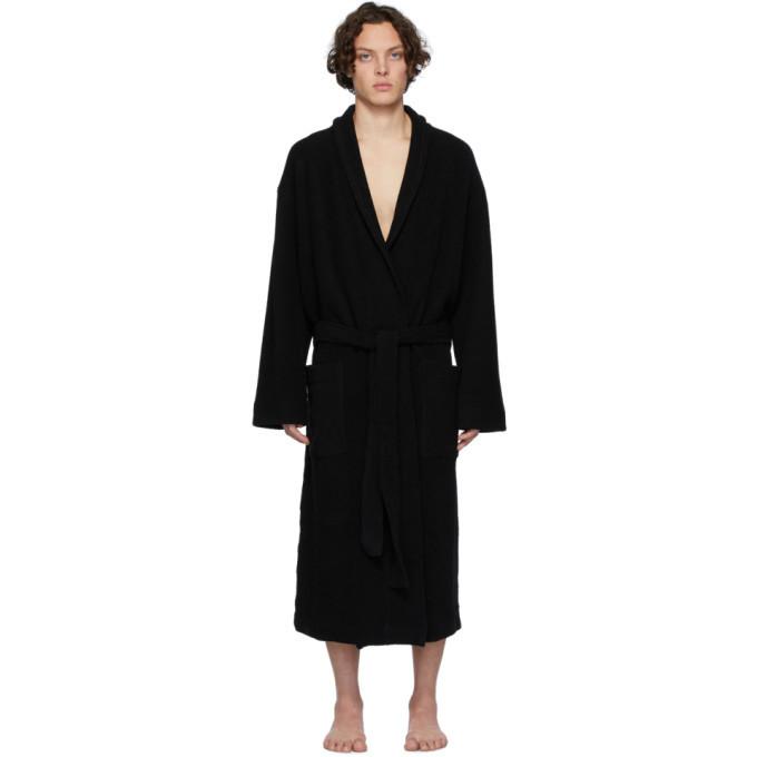 Photo: Dries Van Noten Black Herles Robe