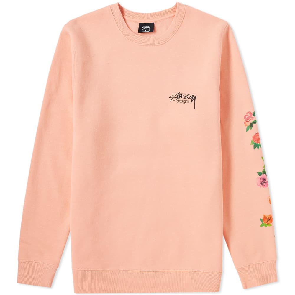 Photo: Stussy Roses Crew Sweat