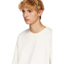 Sunspel White Loopback Sweatshirt