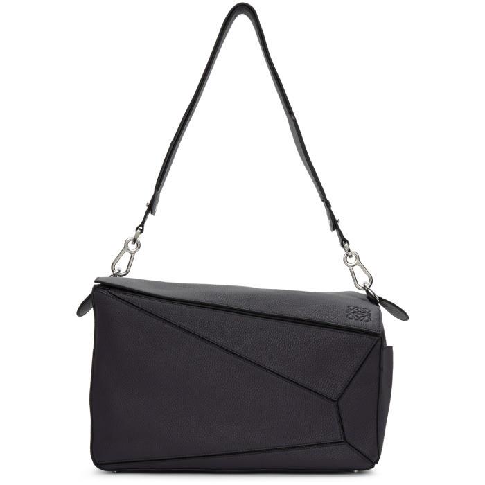 Photo: Loewe Navy XL Puzzle Bag