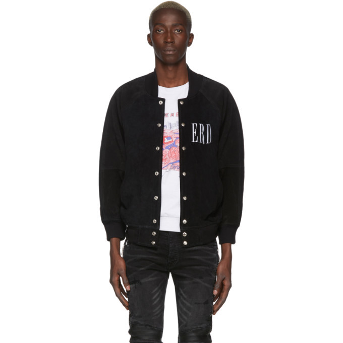 Photo: Enfants Riches Deprimes Black Classique Dame Bomber Jacket