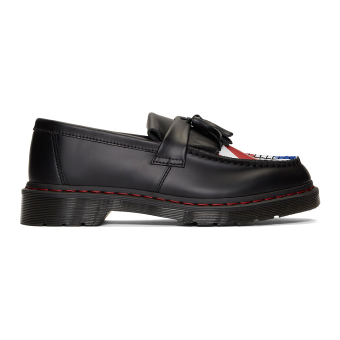 Photo: Dr. Martens Black The Who Edition Adrian Loafers