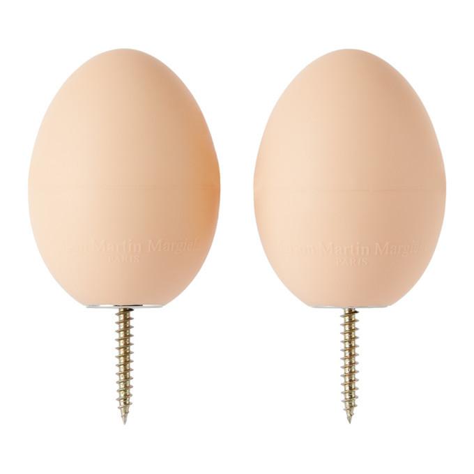 Photo: Maison Margiela SSENSE Exclusive Beige Line 13 Egg Door Stops