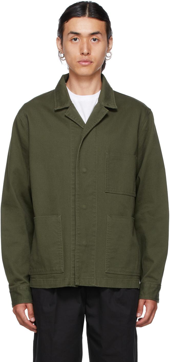 Photo: Frame Khaki Workwear Jacket