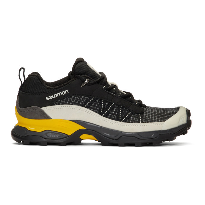 Photo: Salomon Black and Grey Limited Edition Shelter Low LTR ADV Sneakers