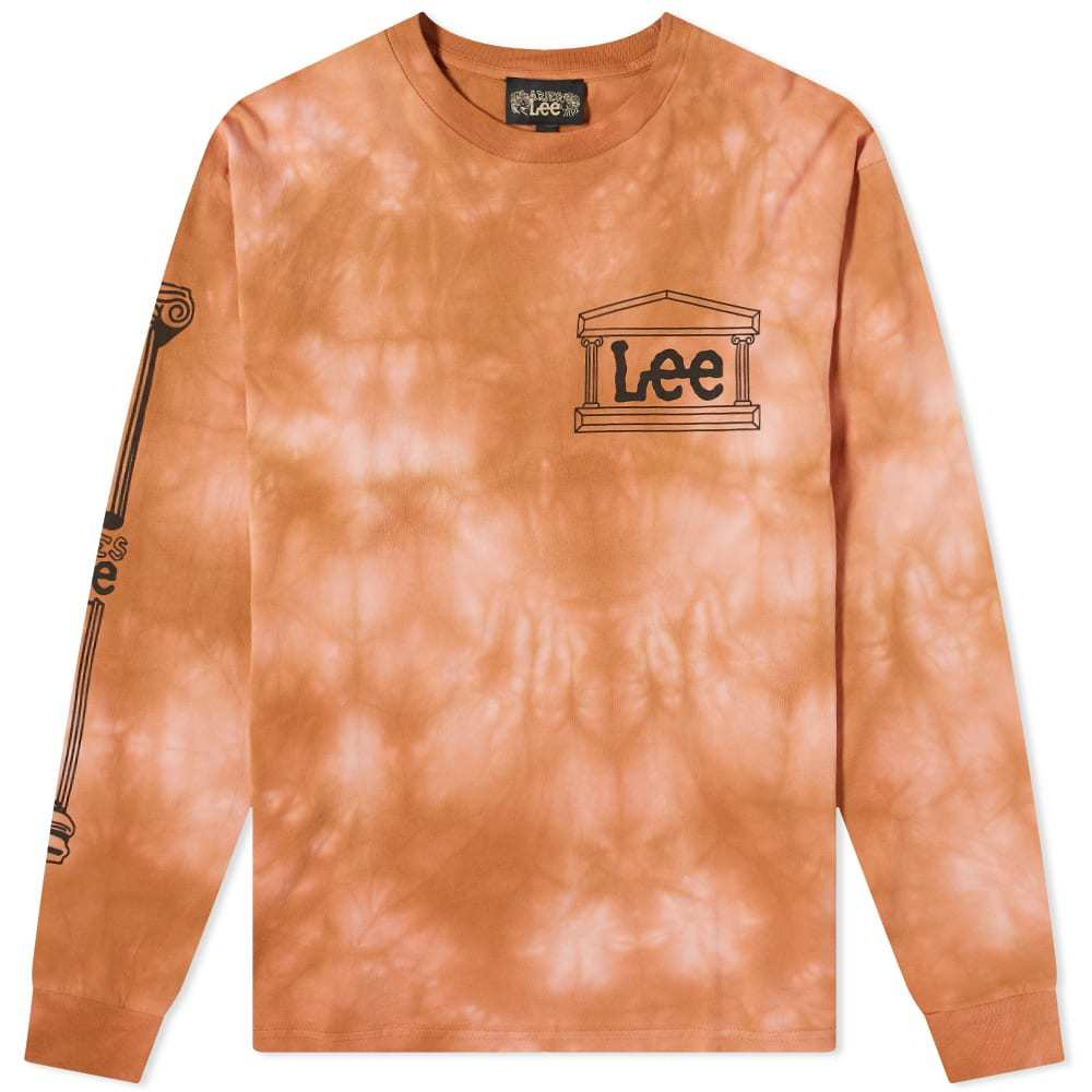 Aries x Lee Long Sleeve Tie Dye Tee