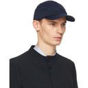 Giorgio Armani Navy Embroidered Cap