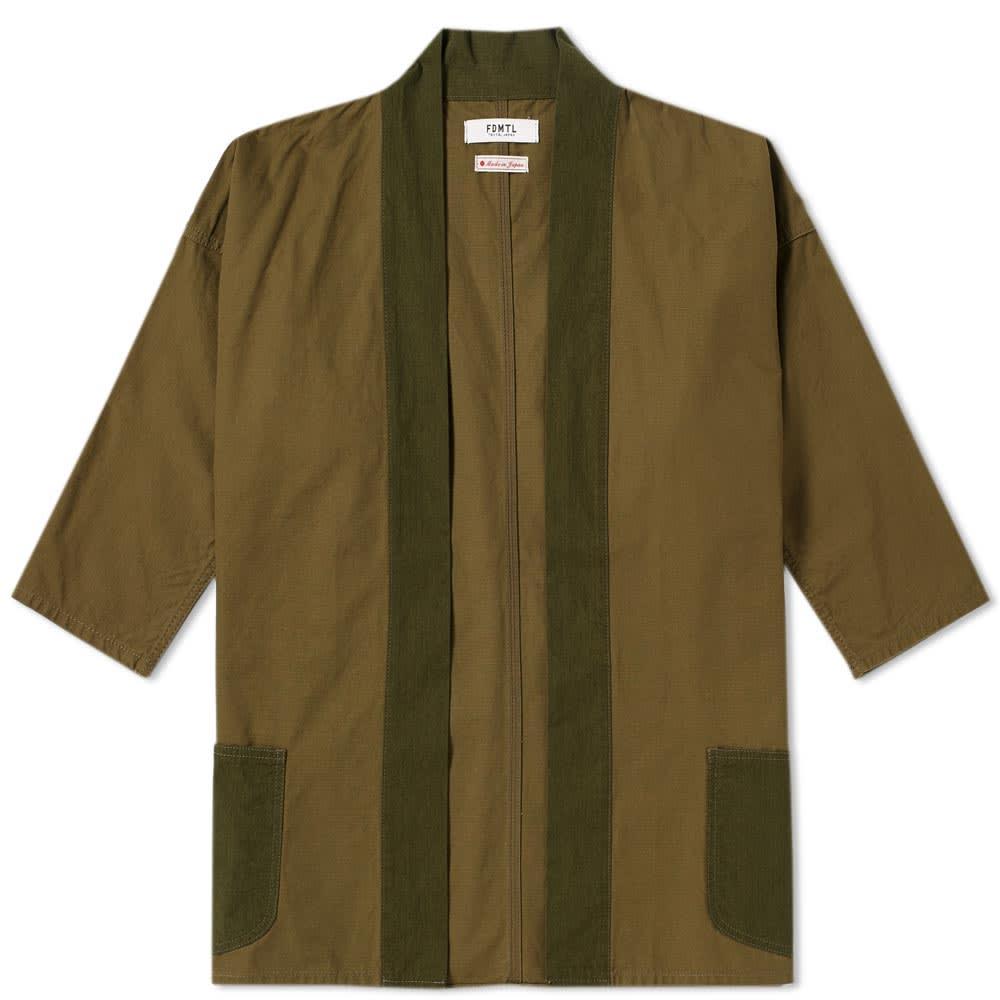 Photo: FDMTL Kimono Short Coat