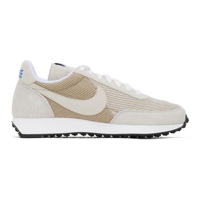 Photo: Nike Beige Air Tailwind 79 SE Sneakers