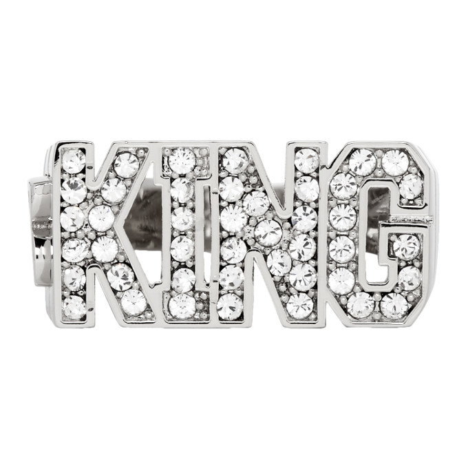 Photo: Dolce and Gabbana Silver King Ring