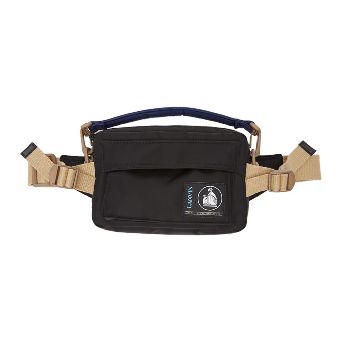 Photo: Lanvin Black Duvet Belt Bag