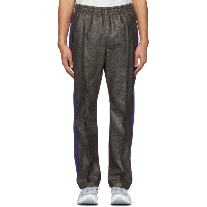 Photo: Needles Grey Python Track Pants