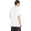 Raf Simons White Six Picture Big Fit T-Shirt