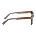 Dunhill Grey Shiny Square Sunglasses