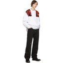 Raf Simons White Oversized Patches Sweatshirt