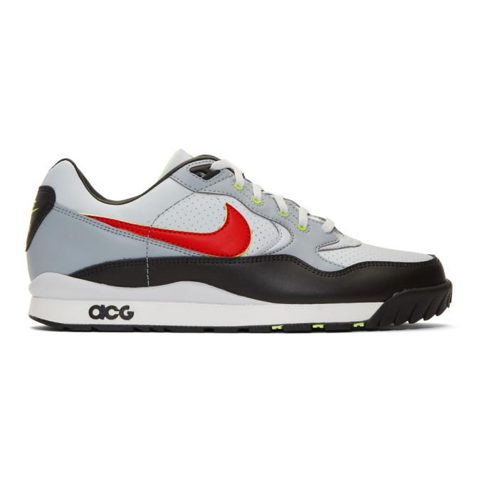 Photo: Nike ACG Grey ACG Wildwood Sneakers