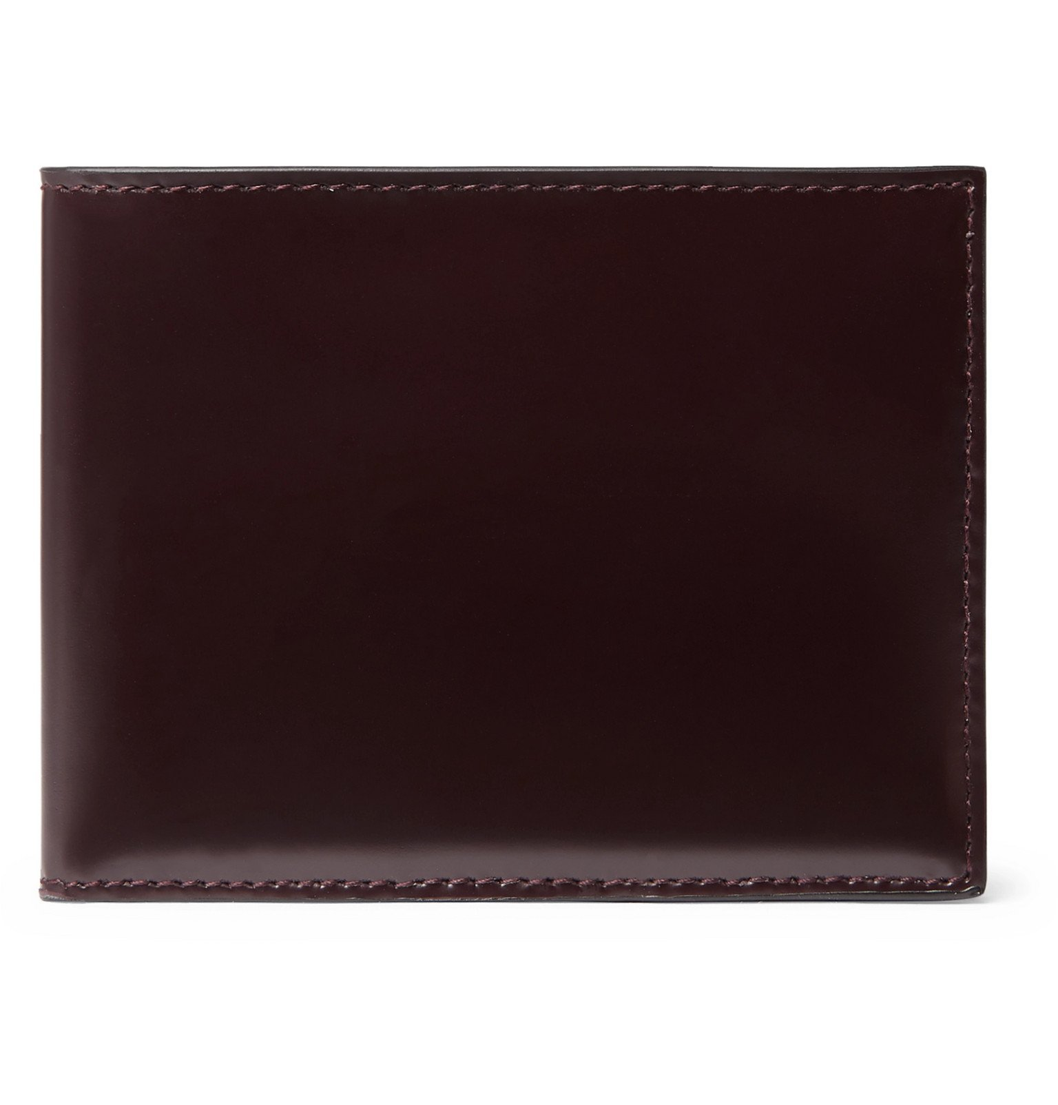 Photo: Common Projects - Leather Billfold Wallet - Burgundy