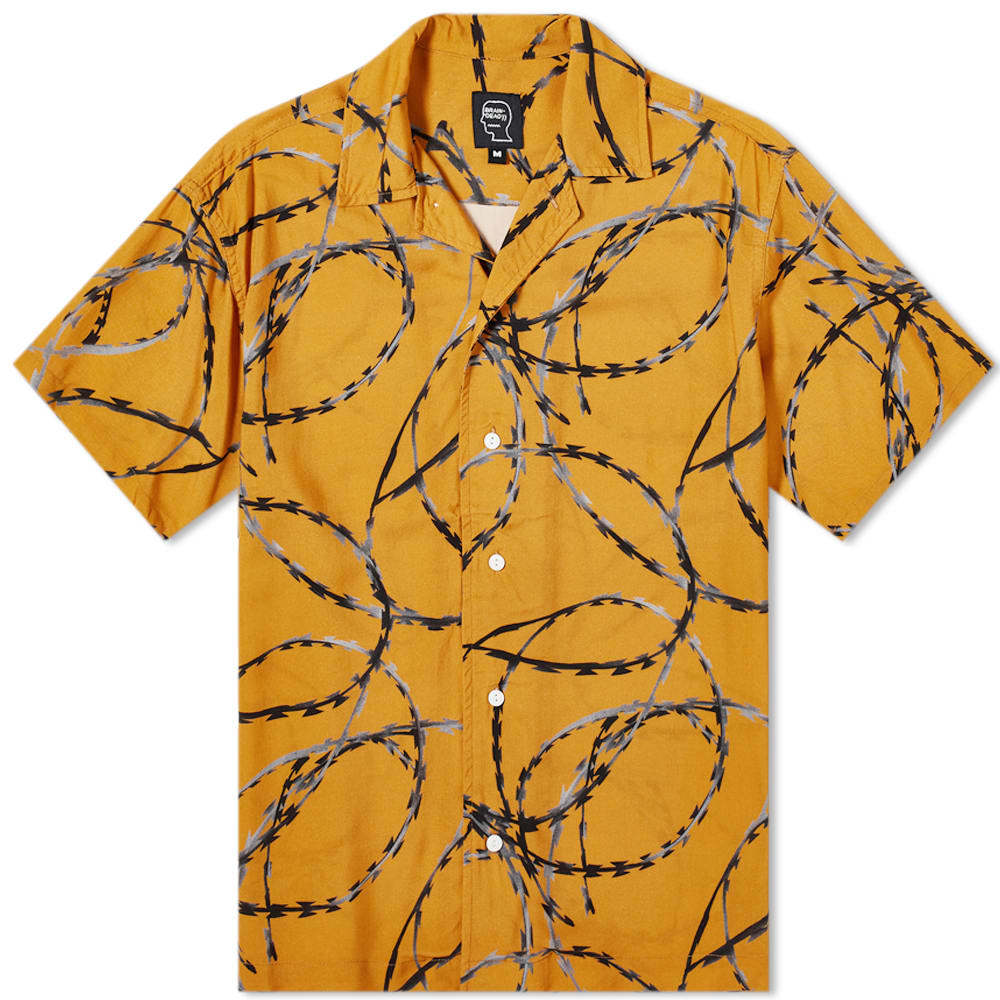 Photo: Brain Dead Razor Wire Short Sleeve Shirt
