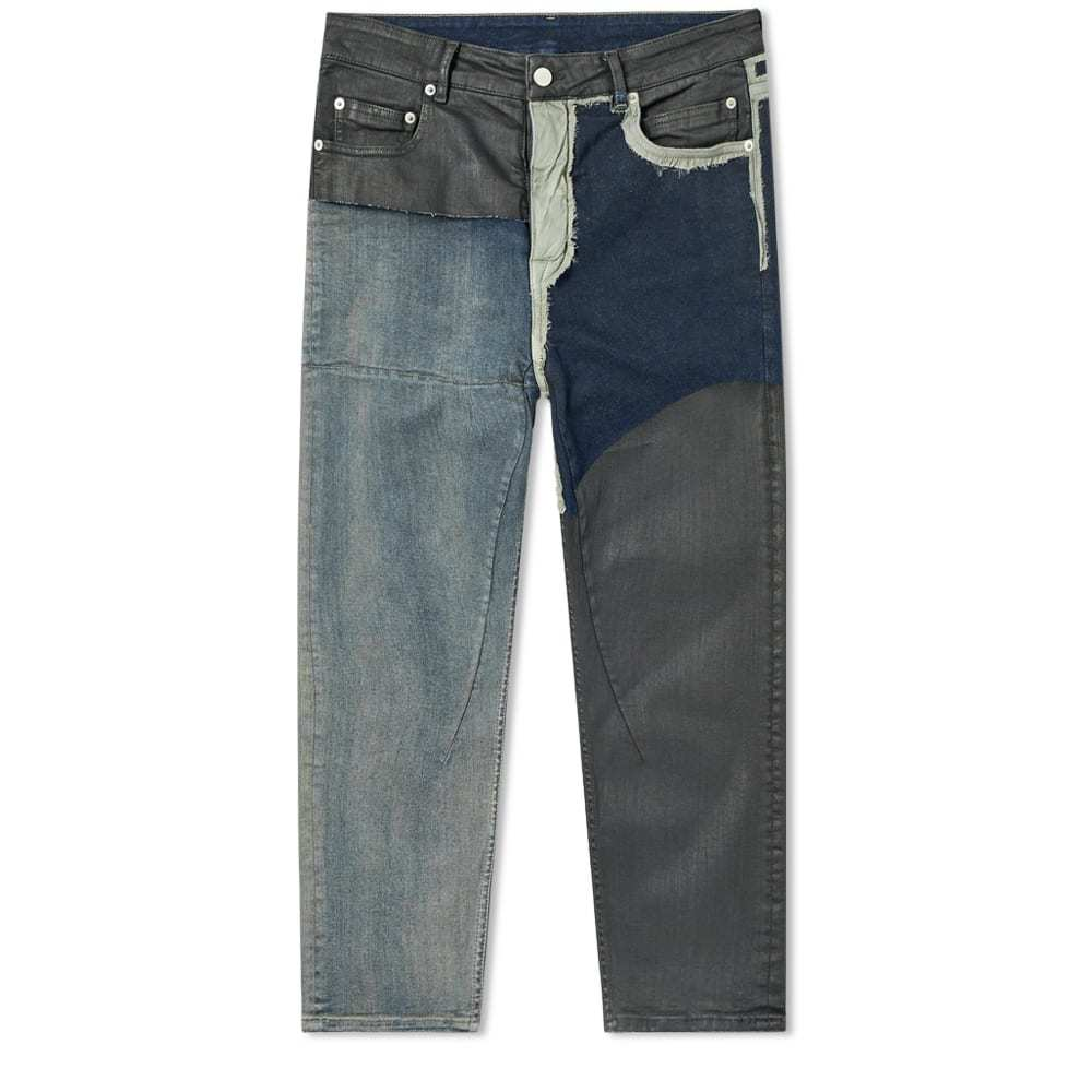 Photo: Rick Owens Patchwork Cropped Jean