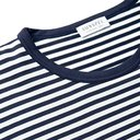 Sunspel - Striped Cotton-Jersey T-Shirt - Blue
