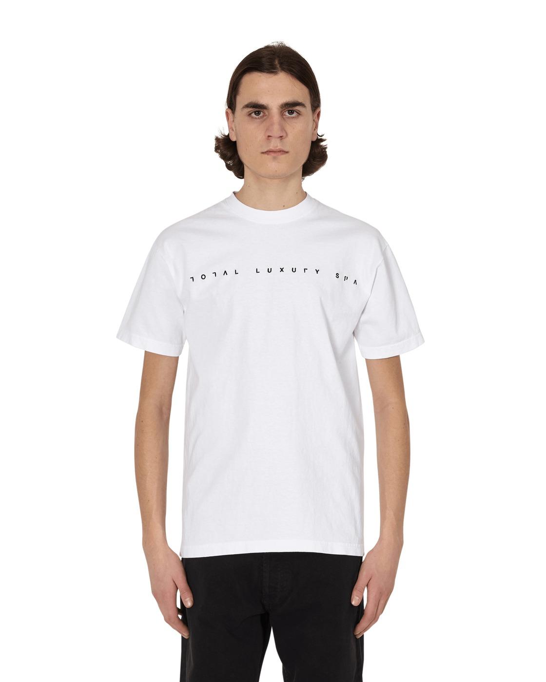Photo: Total Luxury Spa Open Logo T Shirt White