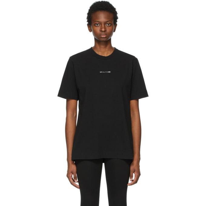 Photo: 1017 ALYX 9SM Black Collection Name T-Shirt