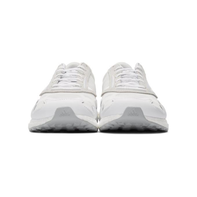 Y-3 White Rhisu Run Sneakers