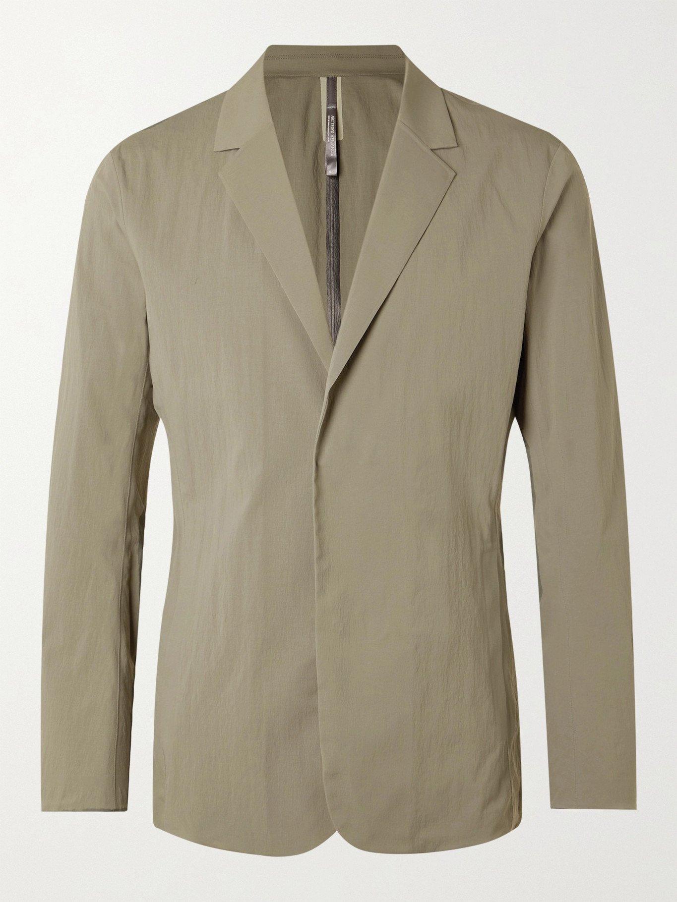 VEILANCE - Slim-Fit Nylon-Blend Blazer - Gray - XS