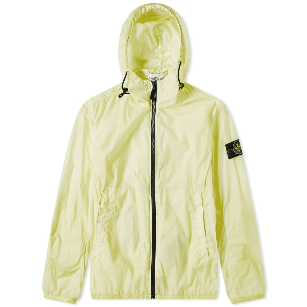 Photo: Stone Island Lamy Velour Zip Hooded Shell Jacket