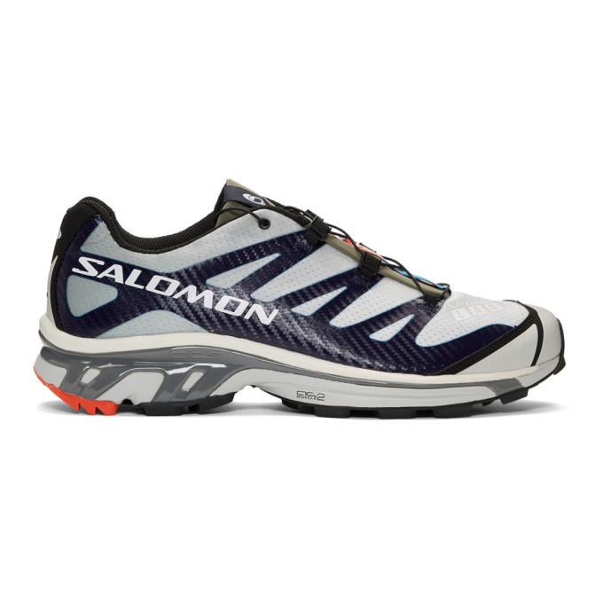 Photo: Salomon Grey and Blue S/Lab XT-4 ADV Sneakers