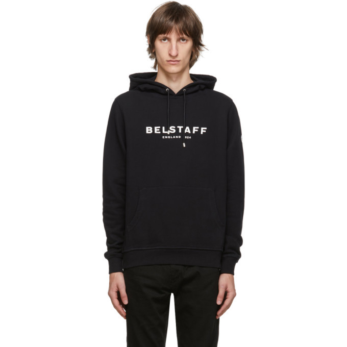 Photo: Belstaff Black 1924 Hoodie