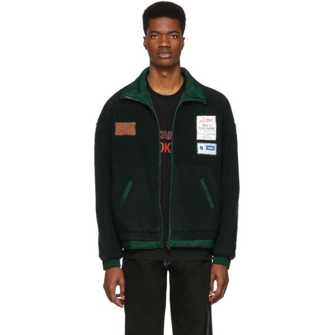 Photo: ADER error Reversible Green Fleece Jacket