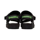 Aries Black Suicoke Edition Depa Cab Sandals