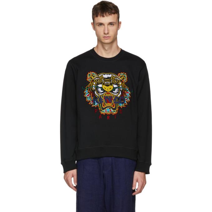 Photo: Kenzo Black Dragon Tiger Sweatshirt
