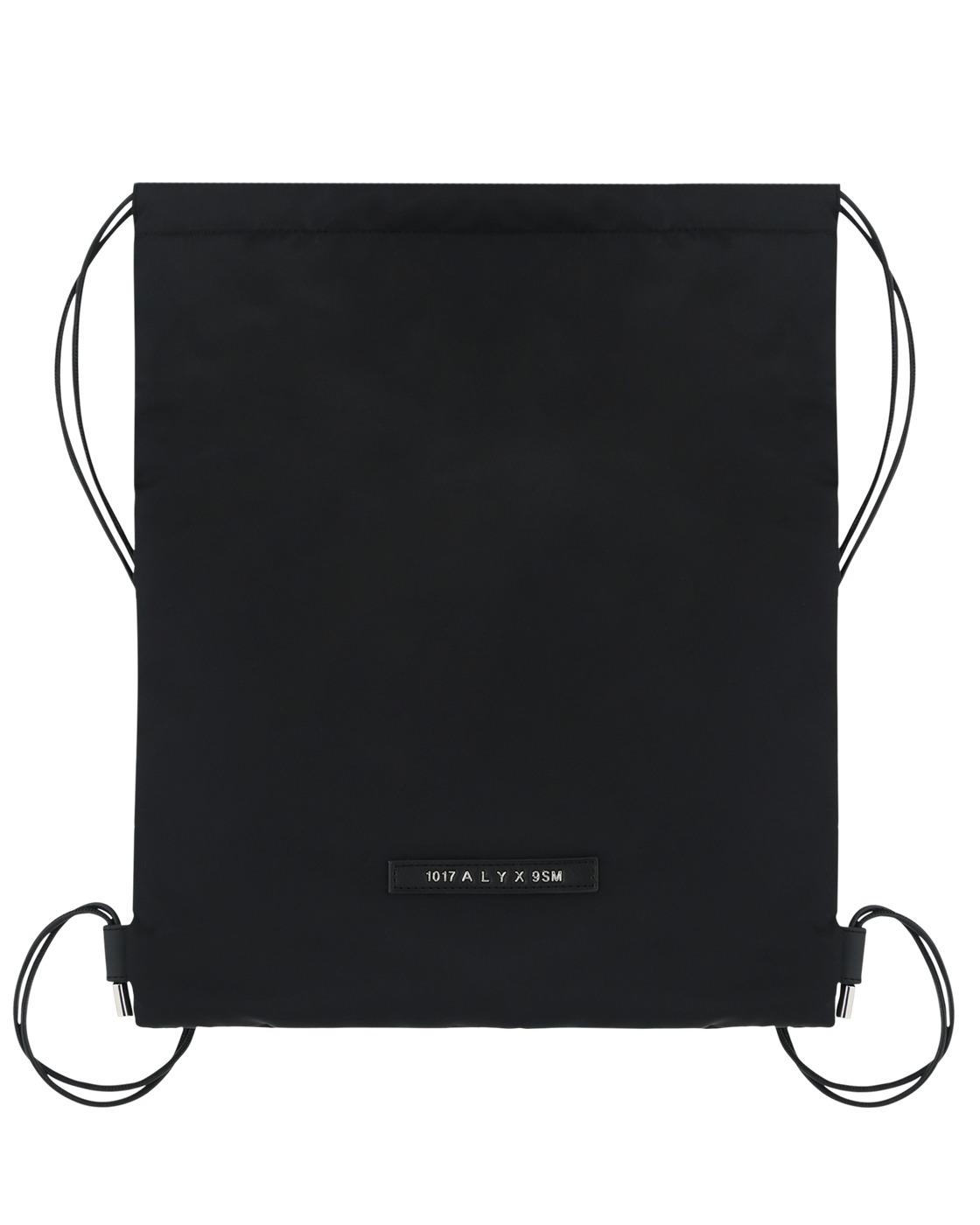 Photo: 1017 Alyx 9sm Re Nylon Drawstring Backpack Black