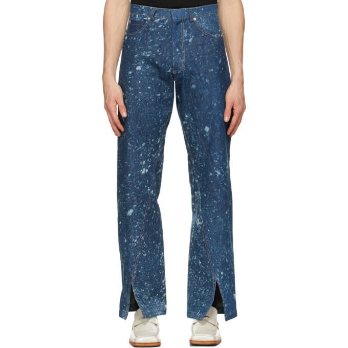 Photo: Bianca Saunders Blue Slit Cuff Lexxus Jeans