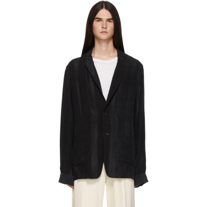 Photo: Ann Demeulemeester Black Warbler Jacket