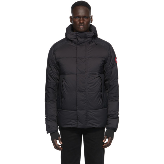 Photo: Canada Goose Black Down Armstrong Hoody Jacket