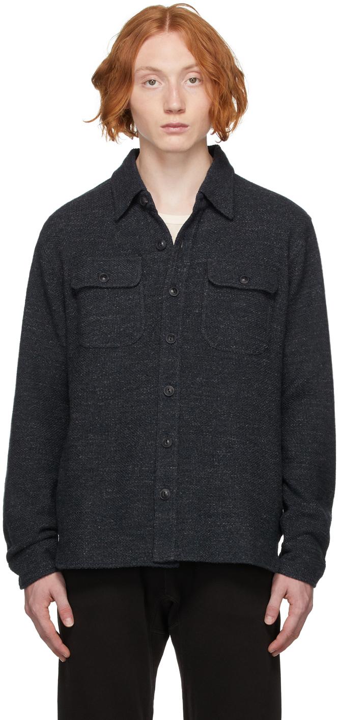 Photo: RRL Navy Cotton Work Shirt