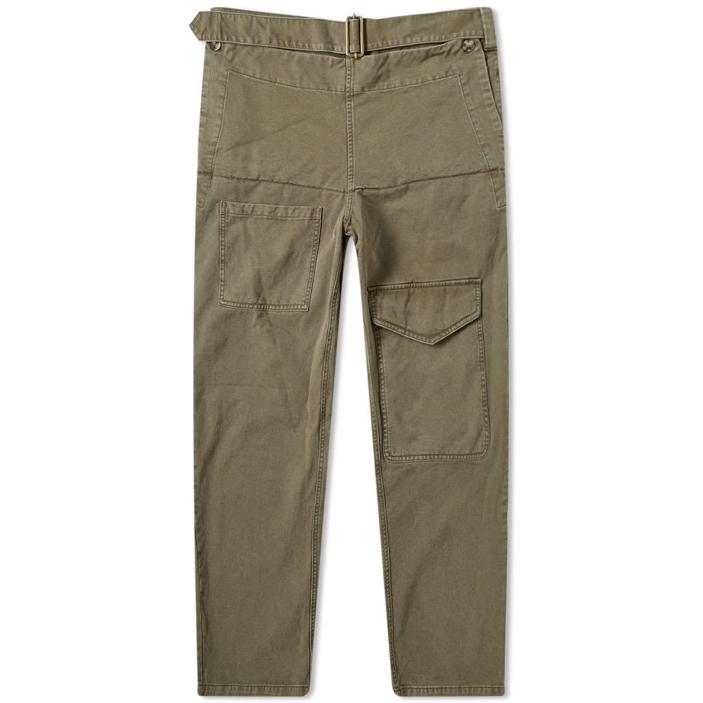 Photo: JW Anderson Front Pocket Fold Trouser Khaki