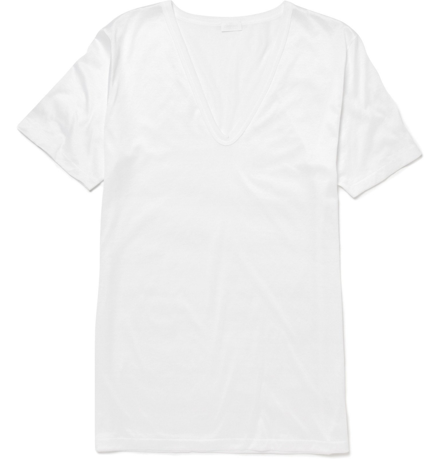 Photo: Zimmerli - Royal Classic Cotton T-Shirt - White