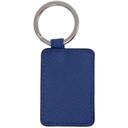 Smythson Blue Panama Envelope Keychain