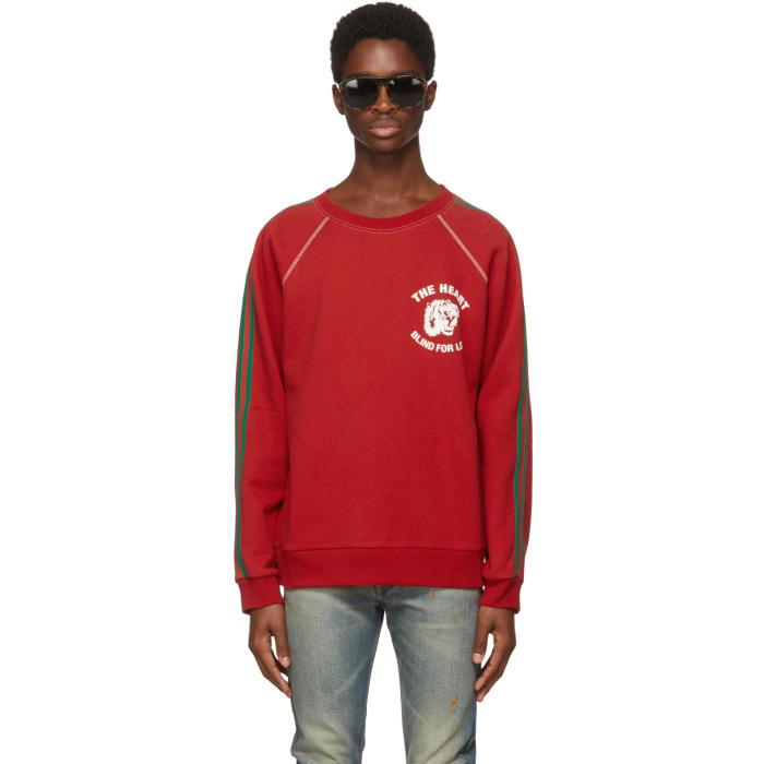Photo: Gucci Red Spiritismo Raglan Sweatshirt