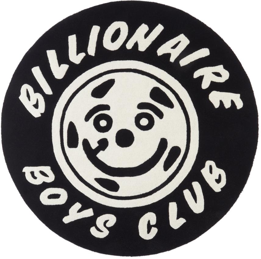 Photo: Billionaire Boys Club Black Smiling Wheel Rug